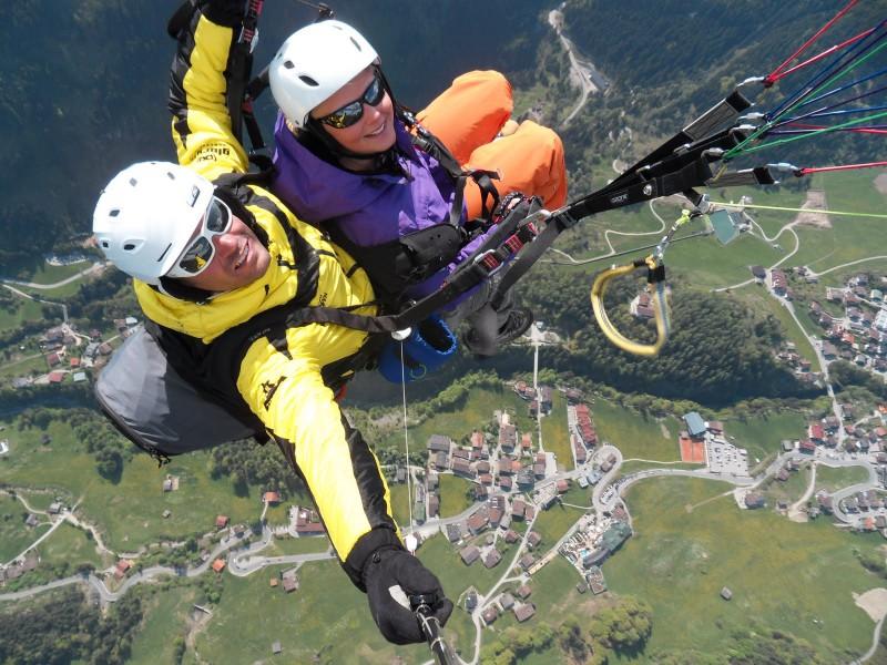 Paragliding, www.aktivostrig.dk