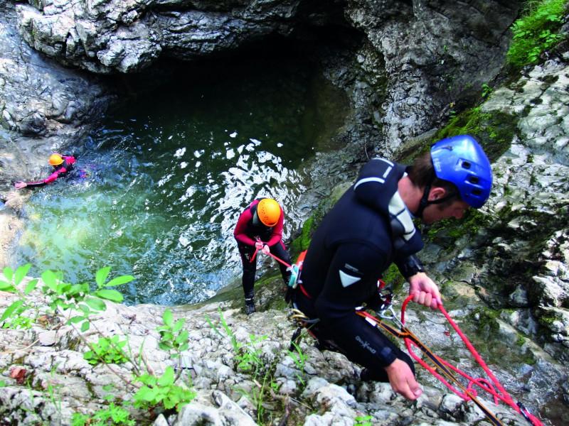 Canyoning - www.aktivostrig.dk